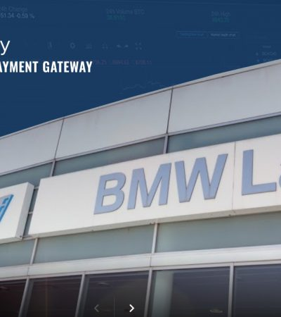 BMW Laval now uses Alt 5 Pay to accept Bitcoin payments for new and pre-owned vehicles